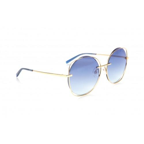 Ana Hickmann Okulary przeciwsłoneczne damskie HI3078 04E - złoty, filtr UV 400