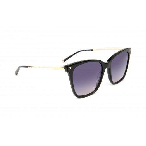 Ana Hickmann Okulary przeciwsłoneczne damskie HI9097 A02 - czarny, filtr UV 400