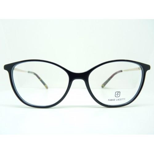 Fabio Lacetti Oprawa okularowa damska 95048CD col.1 - czarny
