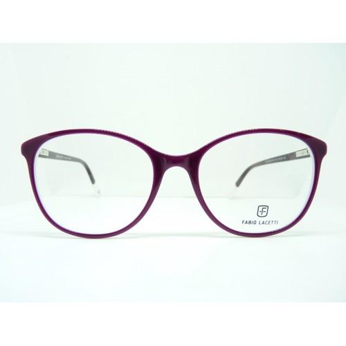 Fabio Lacetti Okulary korekcyjne damskie 95066CD-NN col.1 - różowy
