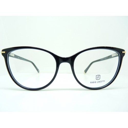 Fabio Lacetti Okulary korekcyjne damskie 95088CD col.1 - czarny