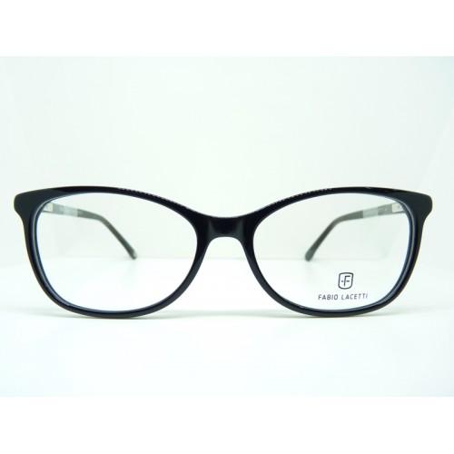 Fabio Lacetti Oprawa okularowa damska 95054CD col.1 - czarny