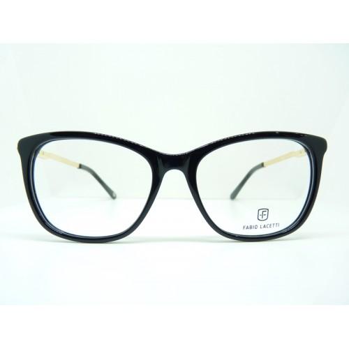 Fabio Lacetti Oprawa okularowa damska 95081CD col.1 - czarny