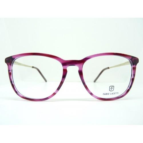 Fabio Lacetti Okulary korekcyjne damskie 95062RW col.3 - różowy