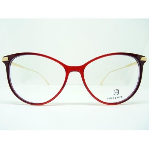 Fabio Lacetti Okulary korekcyjne damskie 95070CD col.02 - czerwony