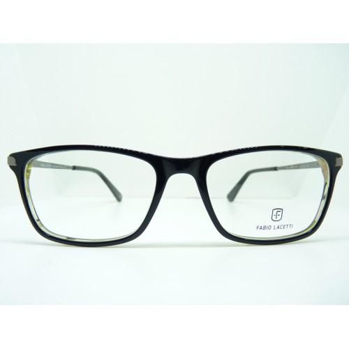 Fabio Lacetti Oprawa okularowa męska 95035X col.2 - czarny