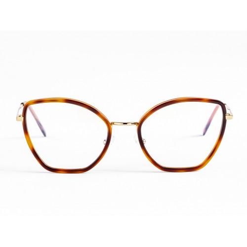 Germano Gambini Okulary korekcyjne damskie GGC04 TS3 - niebieski