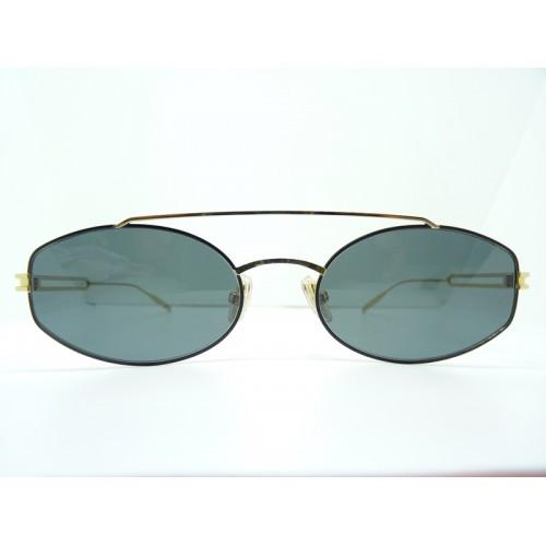 JPLUS Okulary przeciwsłoneczne damskie 3071-01 - złoty, filtr UV 400