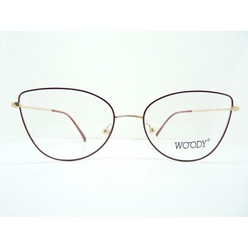 WOODY Oprawa okularowa damska YC 33052 c2 - złoty