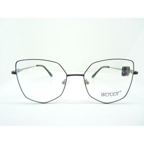 WOODY Oprawa okularowa damska ME 2314 c2 - czarny, szary