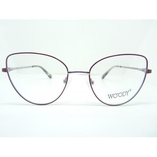 WOODY Oprawa okularowa damska ME 2311 c2 - różowy