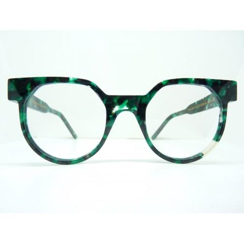 JPLUS Okulary korekcyjne damskie CUBE 3 2122-06 - zielony