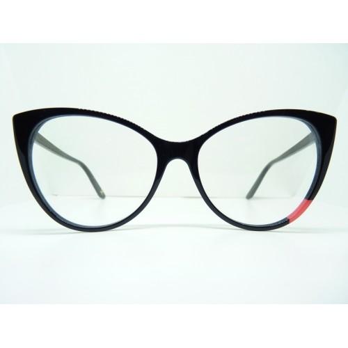 JPLUS Okulary korekcyjne damskie NINA 2103-01 - czarny