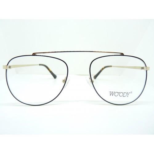 WOODY Oprawa okularowa damska 9428 c1 - czarny