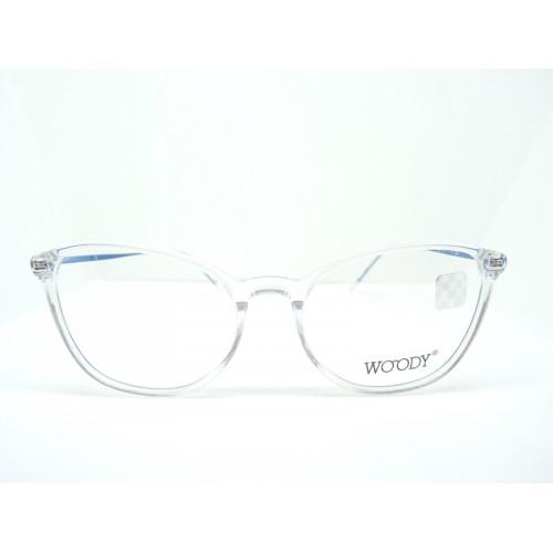 WOODY Oprawa okularowa damska 17606 c02 - transparentny