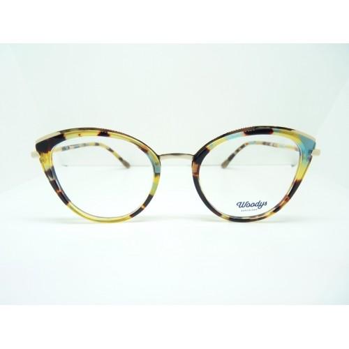 Woodys Okulary korekcyjne damskie Linx 0.2 - wielokolorowy
