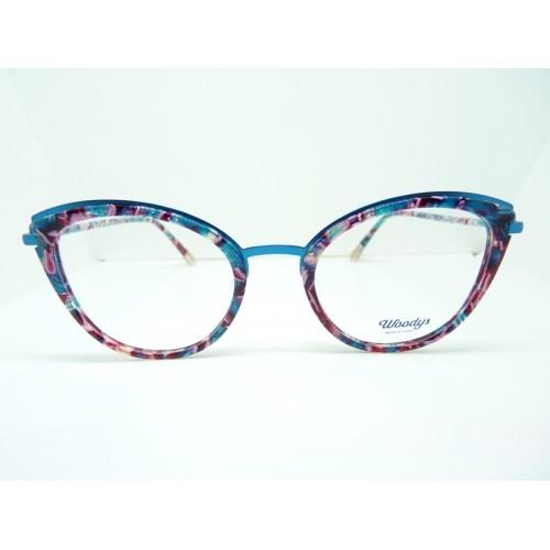 Woodys Okulary korekcyjne damskie Linx 0.5 - wielokolorowy