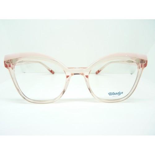 Woodys Okulary korekcyjne damskie Bay 04 - transparentny