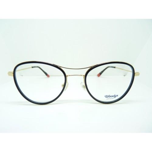 Woodys Okulary korekcyjne damskie Emu 01 - czarny