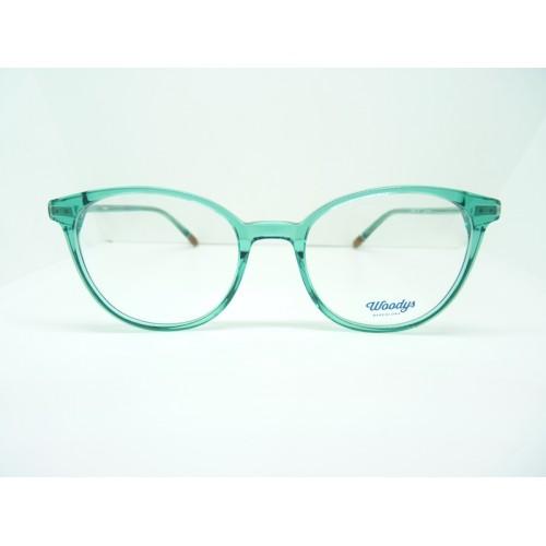 Woodys Okulary korekcyjne damskie Lemon 05 - turkusowy