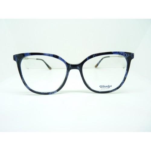 Woodys Okulary korekcyjne damskie Loris 01 - czarny, granatowy