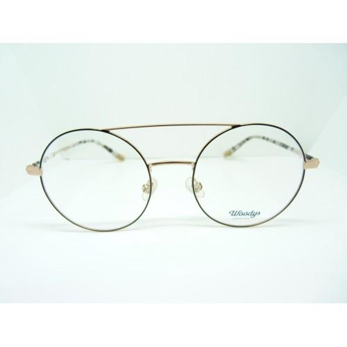 Woodys Okulary korekcyjne damskie Ren 0.1 - czarny, złoty