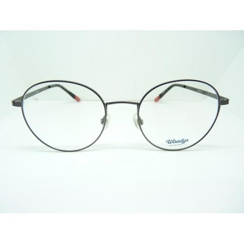 Woodys Okulary korekcyjne damskie Socrates 01 - szary