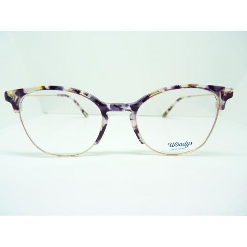 Woodys Okulary korekcyjne damskie Wombat 0.3 - złoty