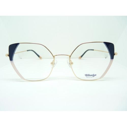 Woodys Oprawa okularowa damska Zebra 03 - złoty