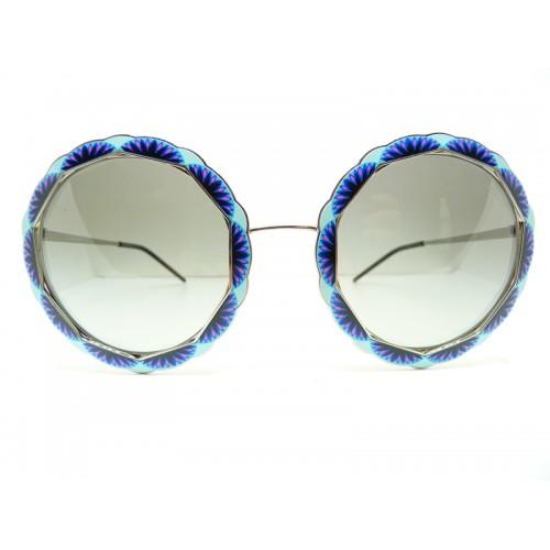 Emporio Armani Okulary przeciwsłoneczne damskie 2054 301/511 2N - wielokolorowy