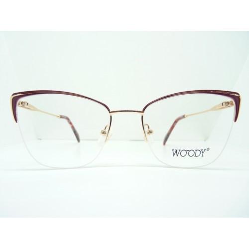 WOODY Oprawa okularowa damska MG 3515 C3 - złoty, różowy