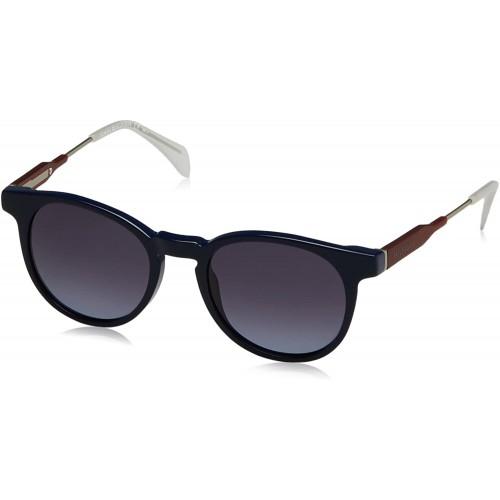 Tommy Hilfiger Okulary przeciwsłoneczne damskie TH1350 JX3HD - granatowy, filtr UV 400