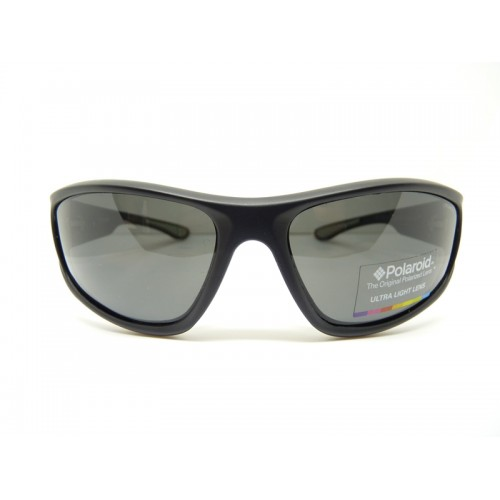 Polaroid Okulary przeciwsłoneczne męskie PLD 3017S DL5 Y2 - czarny, POLARYZACJA