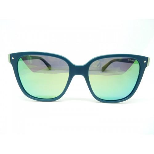 Polaroid Okulary przeciwsłoneczne damskie PLD 6036S 1ED5Z - niebieski, POLARYZACJA