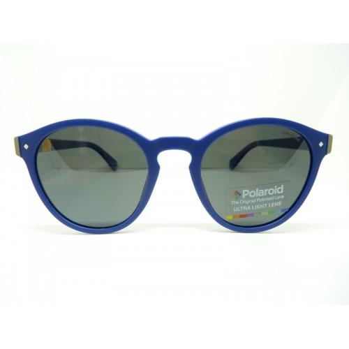 Polaroid Okulary przeciwsłoneczne damskie PLD 6034S PJPM9 - granatowy, POLARYZACJA
