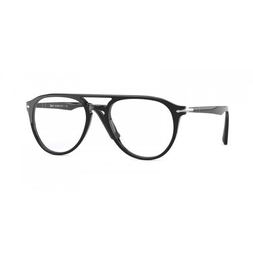 Persol Okulary korekcyjne męskie PO3160V - El Profesor - czarny