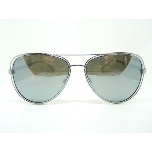 Solano Okulary przeciwsłoneczne damskie SS10233 B - srebrny