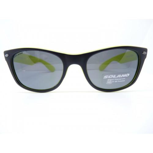 Solano Okulary przeciwsłoneczne damskie SS20271 C - czarny, zielony