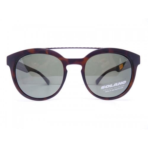 Solano Okulary przeciwsłoneczne damskie SS20609 B - czarny, brązowy