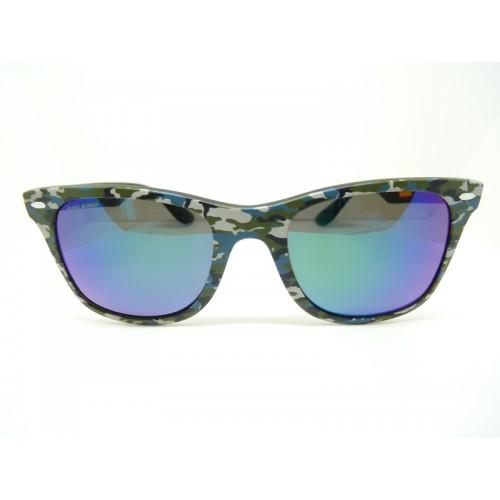 Solano Okulary przeciwsłoneczne damskie SS90102 F - czarny, zielony, niebieski