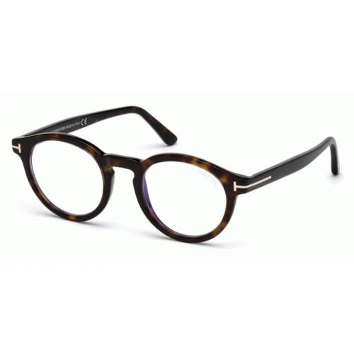 Tom Ford Okulary korekcyjne męskie FT5529-B 052 - szylkret