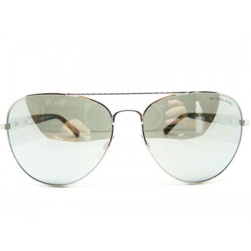 Michael Kors Okulary przeciwsłoneczne damskie MK1003 10016G - srebrny