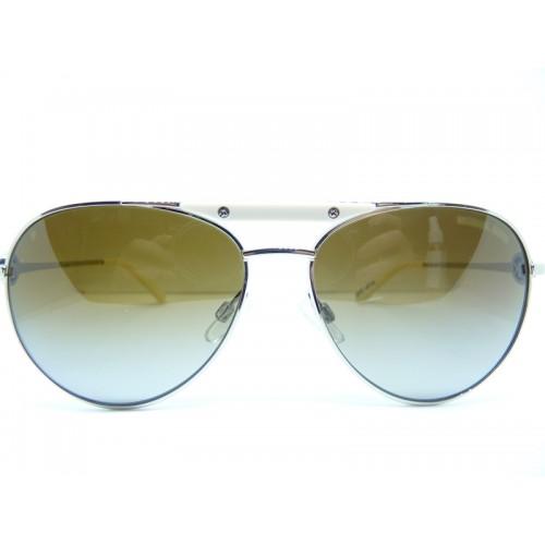 Michael Kors Okulary przeciwsłoneczne damskie MK5001 1001T5 - złoty, biały