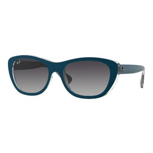 Ray Ban Okulary przeciwsłoneczne damskie RB 4227 6191/8G - niebieski, filtr UV 400