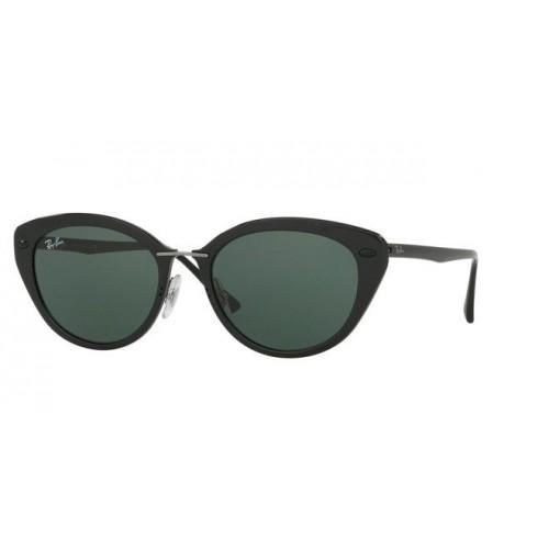 Ray Ban Okulary przeciwsłoneczne damskie RB 4250 6191/8G - czarny, filtr UV 400, polaryzacja