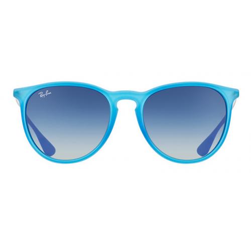 Ray Ban Okulary przeciwsłoneczne damskie RB 4171 ERIKA 6023/4L - niebieski, filtr UV 400