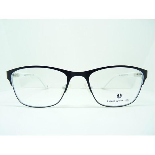 Louis Delacroix Oprawa okularowa damska 73029 Col.01 - czarny