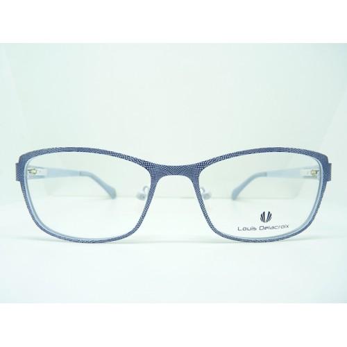 Louis Delacroix Oprawa okularowa damska 73033X Col.03 - czarny, biały