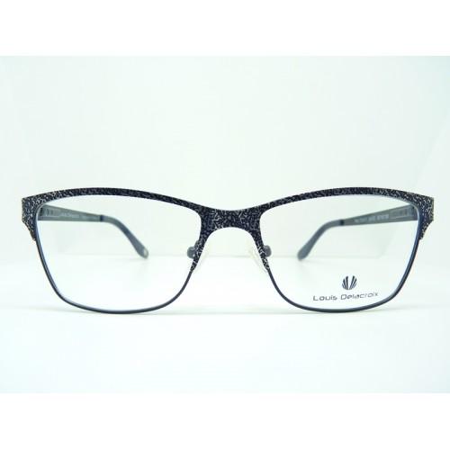 Louis Delacroix Oprawa okularowa damska 73042X Col.02 - czarny