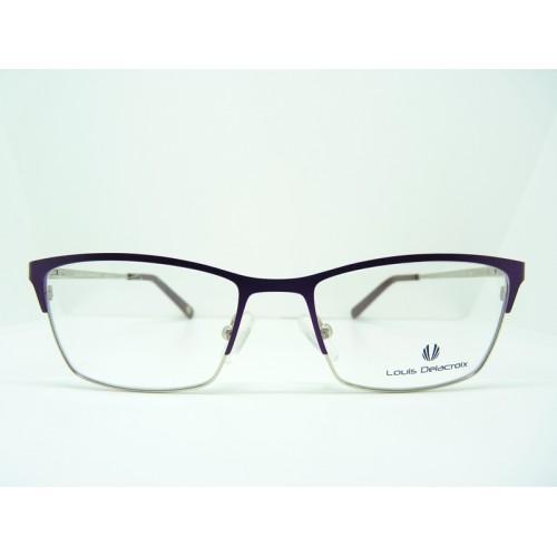 Louis Delacroix Oprawa okularowa damska 73047CD-N Col.02 - czarny